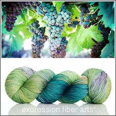 SUNLIT VINEYARD 'RESILIENT' SUPERWASH MERINO SOCK YARN by expression fiber arts - limited edition!