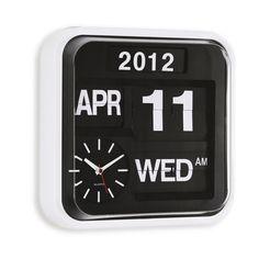 Flip Clock Design-Wanduhr