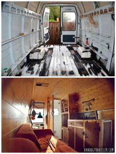 The Homestead Survival | Convert A Van Into A Mobile Tiny Home | http://thehomesteadsurvival.com
