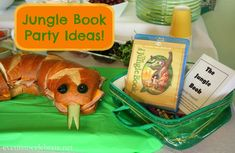 Jungle Book Party Ideas (with a free printable coloring book) - Events To Celebrate #JungleFresh #Shop