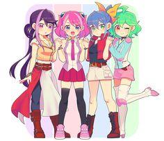Ruri, Yuzu, Serena and Rin