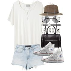 Outfit for summer with converse