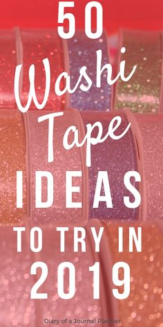 Washi Tape ideas for Bullet Journals. How to use washi tape in your bujo, over 40 creative washi tape ideas you will love. Bullet Journal Washi Tape, Bullet Journal Hacks, Bullet Journals, Junk Journal, Tapas, Washi Tape Uses, Duct Tape, Washi Tapes, Diy Washi Tape Decor