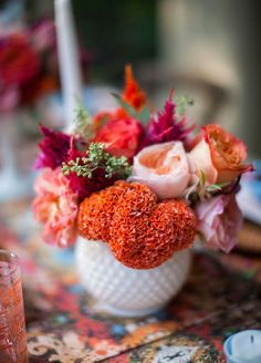 8. Cockscomb: Add interest and personality to any arrangement with this beautifully unique bloom that's fabulous for fall.