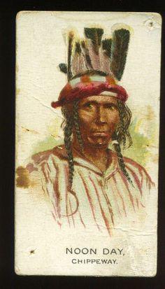 N2 Allen Ginter Indian Chiefs Noon Day | eBay