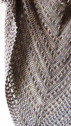 Mer du Nord PDF châle Crochet Pattern par ShaggyNest sur Etsy