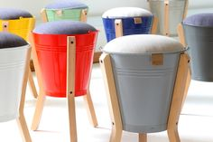 Pedersen+Lennard - Bucket Stool - R1,200.00 http://pedersenlennard.co.za/shop/seating/bucket-stool/