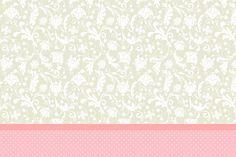 Mais um Kit só com o Fundo para vocês personalizarem do jeito que acharem melhor! Se você quer aprender a colocar imagens, textos e tirar algumas dúvidas de como imprimir os moldes, clique aqui e veja esse post! Moldura Convite e Cartão Poá Rosa e Cinza Floral Vintage: Chachepô de Mesa Poá Rosa e CinzaMore