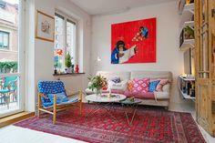 Virlova Interiorismo: [Interior] Eclécticos 40 m² abiertos y a todo color