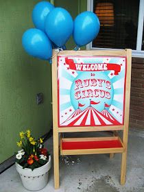 Gwynn Wasson Designs: {Client Parties} Ruby's Circus Party!!