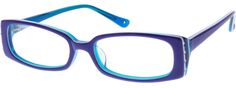 Order online, kids purple full rim acetate/plastic rectangle eyeglass frames model #446317. Visit Zenni Optical today to browse our collection of glasses and sunglasses.