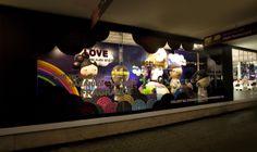 Harajuku Lovers Window Display by Elemental Design.