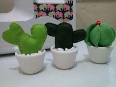 Cactus em feltro