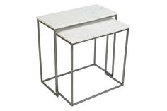 Content by Terence Conran Chelsea Nest of 2 Rectangle Side Table
