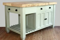 free standing kitchen island unit spot joinery com handmade solid ...