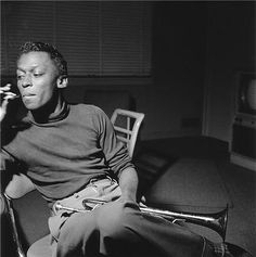 Miles Davis, 1954   by Francis Wolff,