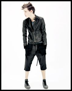 PATRICK STEPHAN, SS11: why are boys afraid of shorts? is it because only 1% are so cool looking and well cut?