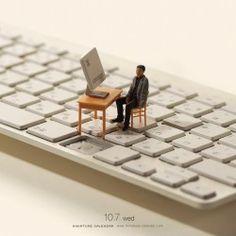 Miniature Calendar - Tatsuya Tanaka