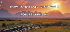 We guide you learn how to install Windows 7 on your PC. This is step by step for…