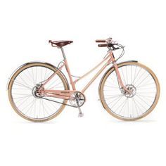 The Runwell Bicycle | Shinola® - I'm not big on pink bikes, but I think I could deal with this one!
