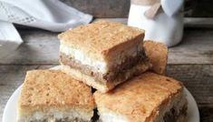 Prăjitură felii imperiale, prajituri cu nuca, prajituri Cata, Homemade Cakes, Cornbread, Oreo, Deserts, Ethnic Recipes, Food, Sweets, Romanian Recipes