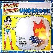 Wonder woman underoos- I loved these so much when I was a kid! Wish they made them in adult sizes.