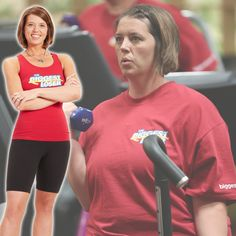 Lisa's before and after transformation! #BiggestLoser