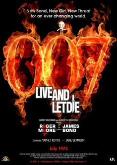 'Live And Let Die' movie poster