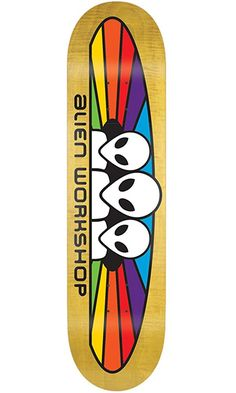 "ALIEN WORKSHOP Skateboard Deck SPECTRUM SM 7.875"" (assorted colors) Best Price"