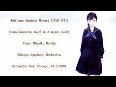 Mozart: Piano Concerto No.23 - Uchida/CSO(2008Live)