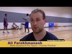 Ali Farohkmanesh - UNI Panther/Austrian Pro Basketball Player
