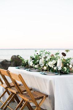Southern Hospitality Wedding Decor for a Coastal Elopement