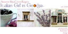 Late Winter, Early Spring 2014 Blog Banner ~ Original Photography by Suzanne MacCrone Rogers ~ via Italian Girl in Georgia