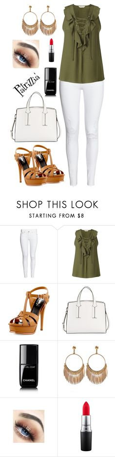 Patrizzia27.05.2017b by patrizzia on Polyvore featuring moda, Miss Selfridge, H&M, Yves Saint Laurent, French Connection, MAC Cosmetics and Chanel