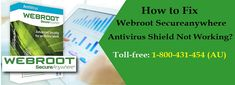 Contact 1-800-431-454 for #Webroot_secureanyware_antivirus shield not working issue will be resolved remotely using the advance troubleshooting system. The whole process is followed for solving Webroot antivirus problems like antivirus not working issues or other technical errors. Webroot secureanywhere not working problems can be easily resolved by the computer experts with online support offered team of certified experts to fix the issues remotely at low cost.