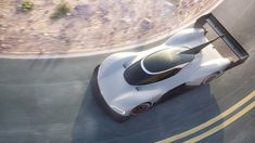 Volkswagen is returning to the famous Pikes Peak hill climb for the first time in 30 years, with an all-electric car. The I. R Pikes Peak is a car Volkswagen has built specifically to compete at Pikes Peak, Exotic Sports Cars, Exotic Cars, Sport Cars, Race Cars, Rallye Wrc, Convertible, Peugeot 208, Automobile