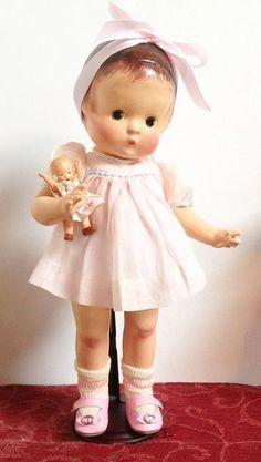 vintage Patsy with her doll Doll Toys, Baby Dolls, Retro, Effanbee Dolls, Ann Doll, Madame Alexander Dolls, Cute Dolls, Pretty Dolls, Kewpie