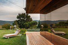 Outdoor Furniture, Outdoor Decor, Sun Lounger, Home Decor, Garden Architecture, Homes, House, Chaise Longue, Decoration Home