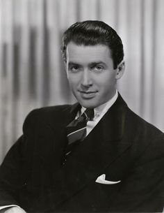 Jimmy Stewart, 1939. One of the most beloved actors in the history of cinema, Stewart was nominated for 5 Academy Awards, winning one (The Philadelphia Story). Stewart was named the 3rd greatest male screen legend in cinema history by the AFI.