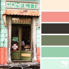 「自然からインスピレーションを受け、写真から色を抽出して作った天然の配色カラーパレット」の画像 : カラパイア