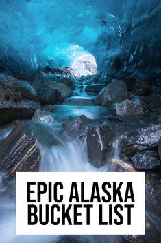 Looking to fill your Alaska bucket list with a variety of adventures? This epic list of Alaskan adventures will be the best bucket list! Alaska Trip, Anchorage Alaska, Alaska Travel, Travel Usa, Travel Tips, Alaskan Vacations, Alaska Summer, Kenai Peninsula, Alaska Adventures
