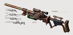 File:Art of Syringer. Fallout Art, Fallout 4 Weapons, Zombie Apocalypse Weapons, Fallout Concept Art, Fallout Cosplay, Sci Fi Weapons, Weapon Concept Art, Fantasy Weapons, Firearms