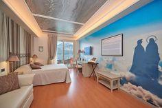 Elegant Chambre De Luxe à Lu0027esprit Créatif Par Belfiore Park Hotel   Italie