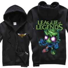 League of Legends LOL Amumu Thick Zip-up Hoodie  http://www.lolamz.com/league-of-legends-lol-amumu-thick-zipup-hoodie-p-3105.html