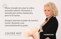 22 Louise L Hay Afirmaciones (Muy poderoso!) - Energía positiva