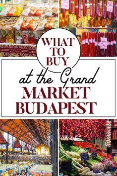 A Guide to Budapest's Great Market Hall — The Creative Adventurer Places To Travel, Travel Destinations, Places To Go, Europe Centrale, Danube River Cruise, Budapest Travel, Prague Travel, Hungary Travel, Romania Travel