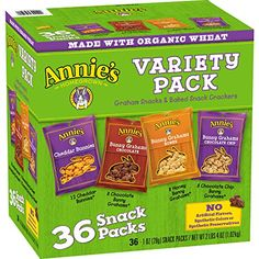 Annies Cheddar BunniesBunny Grahams Variety Pack 361 oz Snack Packs ** Check this awesome product by going to the link at the image. (Note:Amazon affiliate link)