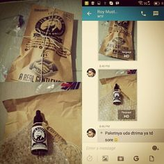 Thanks to Mr. Roy for buying ✯ JIM REBORN ✯ BEARD GROWTH OIL #JimReborn #Gentlemans #Grooming #cambang #jenggot #kumis