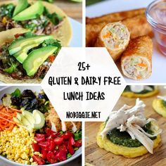 Gluten Free and Dairy Free Lunch Ideas Gluten Free Recipes gluten free dairy free recipes Healthy Sweet Snacks, Nutritious Snacks, Healthy Recipes, Lunch Saludable, Clean Eating Snacks, Healthy Eating, Lactose Free Diet, Gluten Dairy Free, Lactose Free Recipes