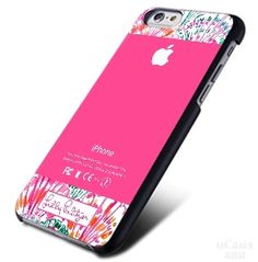 Lilly pulitzer shell Apple Logo iPhone Cases Case
